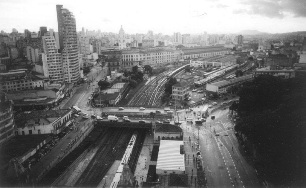 Foto de PRAÇA JULIO PRESTES E PÓLO CULTURAL DA LUZ, 1998 - UnaMunizViegas